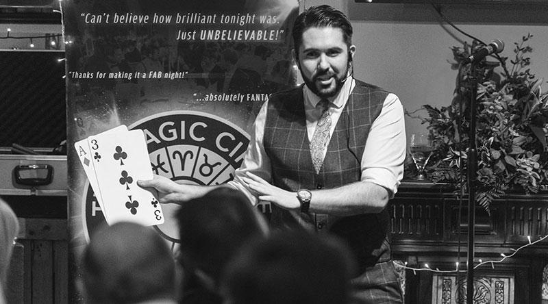 manchester corporate magician